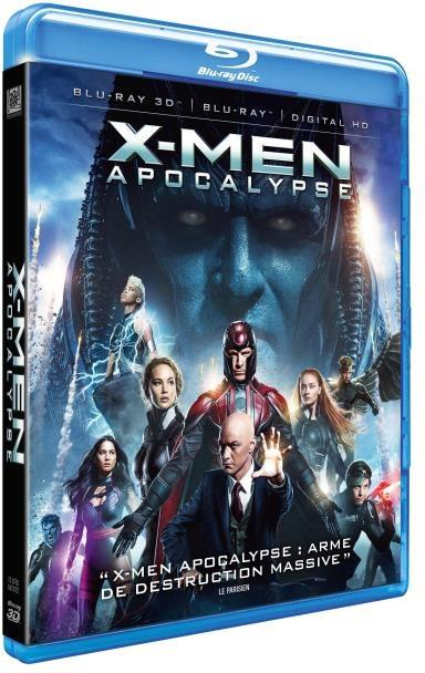 X-Men: Apocalypse (2016) (Blu-ray 3D + Blu-ray)