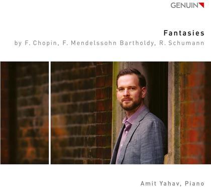 Frédéric Chopin (1810-1849), Felix Mendelssohn-Bartholdy (1809-1847), Robert Schumann (1810-1856) & Amit Yahav - Fantasies