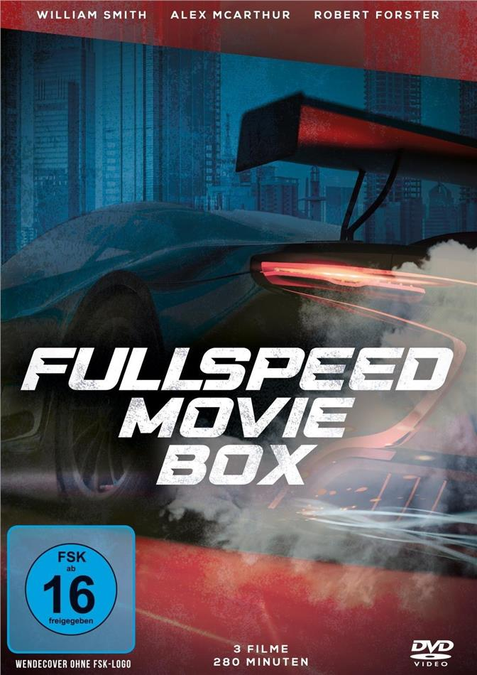 Fullspeed Movie Box - Fast Company / Donner des Todes / Stunts (3 DVDs)