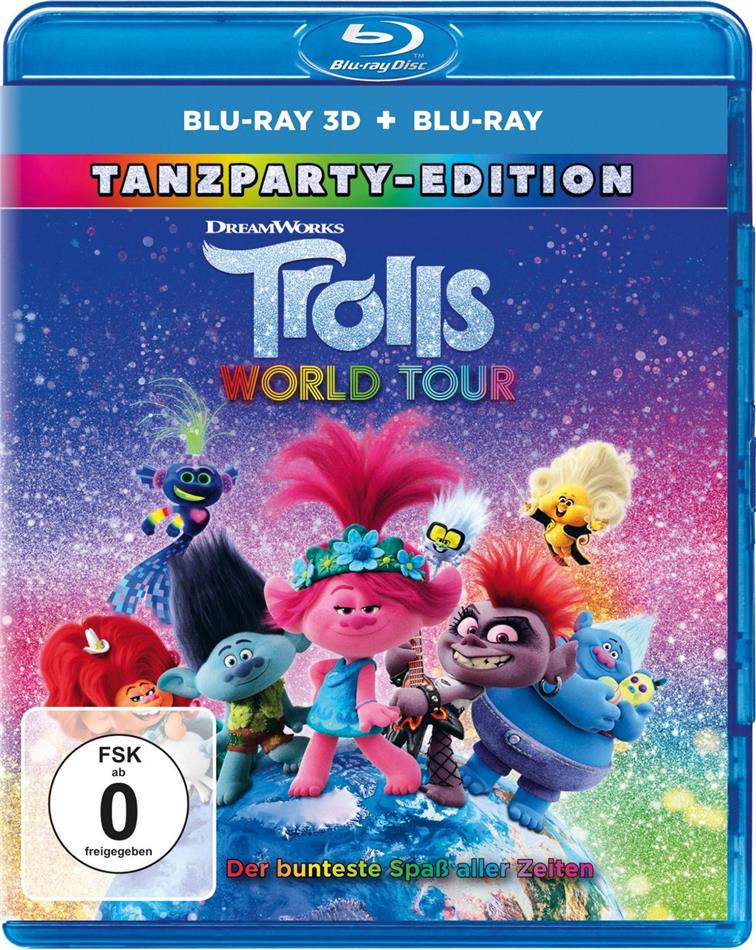 Trolls World Tour - Trolls 2 (2020) (Dance Party Edition, Blu-ray 3D + Blu-ray)