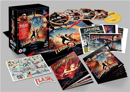 Flash Gordon (1980) (Edizione 40° Anniversario, 4 4K Ultra HDs + CD)