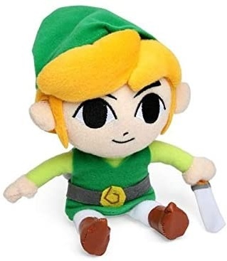 Nintendo: Plüsch Link - 18cm