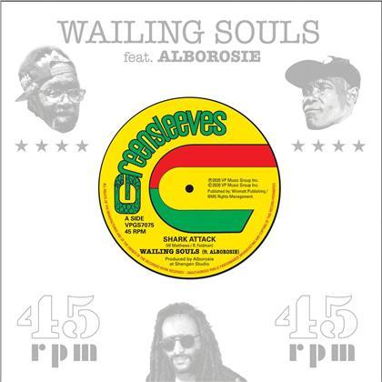 "Wailing Souls & Alborosie - Shark Attack / Shark Attack Dub (7"" Single)"