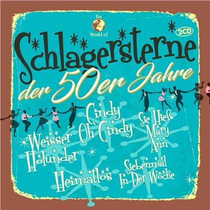 Schlagersterne der 50er Jahre (2 CDs)
