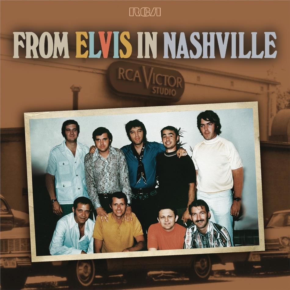 Elvis Presley - From Elvis In Nashville (2 LPs)