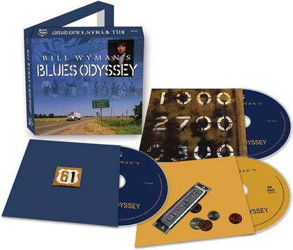 Bill Wyman - Bill Wyman's Blues Odyssey (2 CDs + DVD)