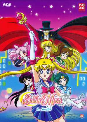 Sailor Moon R - Staffel 2 (Gesamtausgabe, Remastered, 6 DVDs)