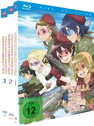 Stella Women's Academy - High School Division Class C3 (Gesamtausgabe, 3 Blu-rays)