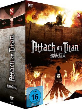 Attack on Titan - Staffel 1 (Gesamtausgabe, 4 DVDs)