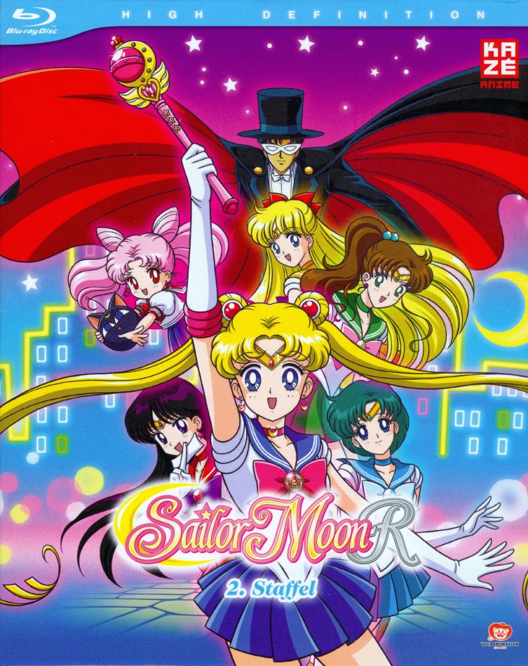 Sailor Moon R - Staffel 2 (Gesamtausgabe, Remastered, 6 Blu-rays)