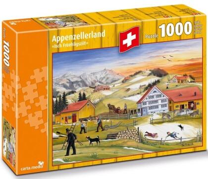 """Appenzellerland: """"Isch Früehligsziit"""" - 1000 Teile Puzzle"""