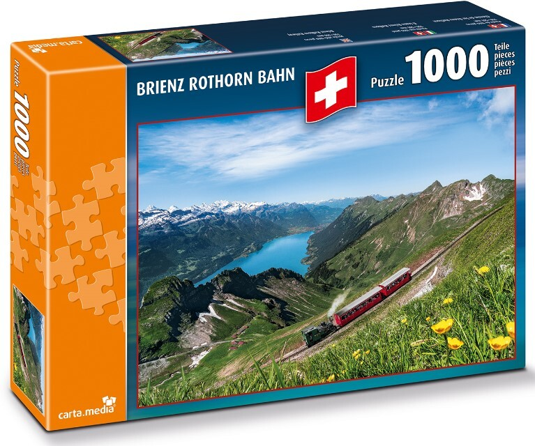 Brienz Rothorn Bahn - Puzzle 1000 Teile