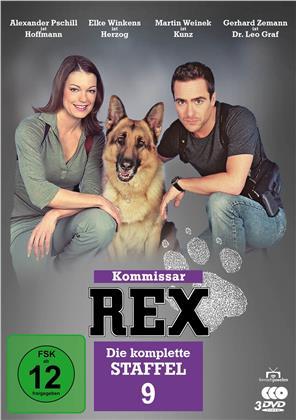 Kommissar Rex - Staffel 9 (3 DVDs)