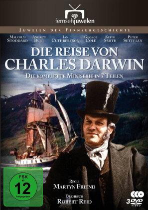 Die Reise von Charles Darwin - Die komplette Serie in 7 Teilen (Fernsehjuwelen, 3 DVDs)