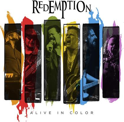 Redemption - Alive In Color (Digipack, 2 CDs + Blu-ray)