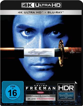 Crying Freeman (1995) (Limited Edition, Uncut, 4K Ultra HD + Blu-ray)