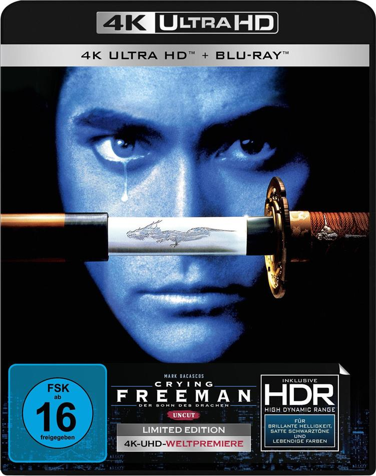 Crying Freeman (1995) (Limited Edition, Uncut, 4K Ultra HD + Blu-ray)