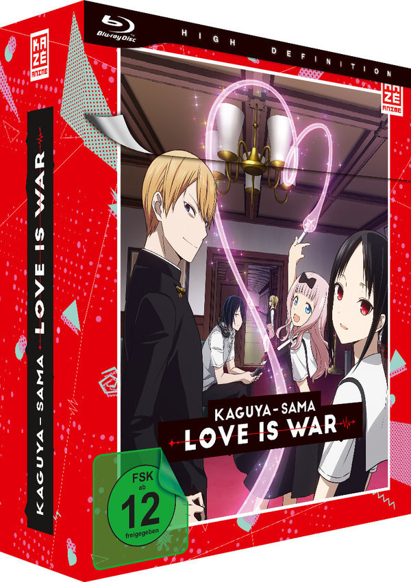 Kaguya-sama: Love Is War - Staffel 1 - Vol. 1 (+ Sammelschuber, Limited Edition)