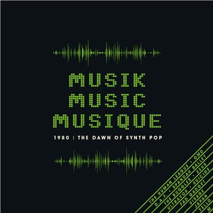 Musik Music Musique - 1980 The Dawn of the Synth Pop (3 CDs)