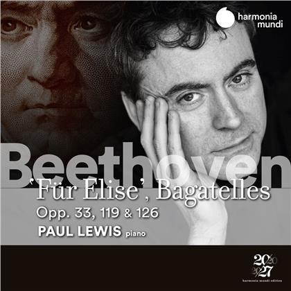 Ludwig van Beethoven (1770-1827) & Paul Lewis - Fur Elise / Bagatelles