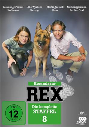 Kommissar Rex - Staffel 8 (2002) (3 DVDs)