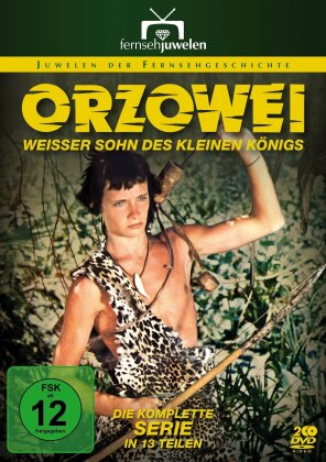 Orzowei - Weisser Sohn des kleinen Königs - Mini-Serie (2 DVDs)