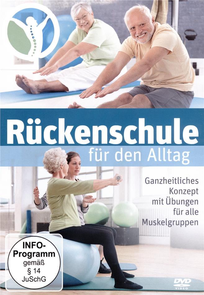Rückenschule für den Alltag - Rückenübungen -Rückenschmerzen - Lendenwirbel