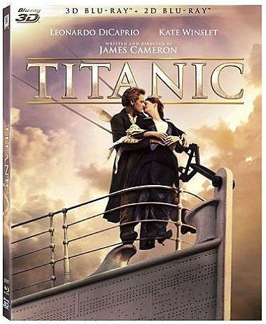 Titanic (1997) (Blu-ray 3D + Blu-ray)