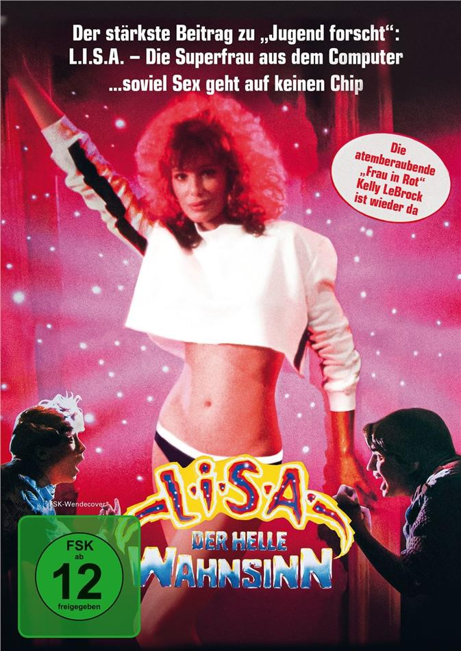 L.I.S.A. - Der helle Wahnsinn (1985) (Extended Edition, Kinoversion, Limited Edition, Mediabook, Blu-ray + DVD)