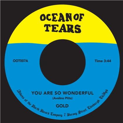 "Gold - You Are So Wonderful (7"" Single)"