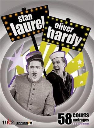 Stan Laurel & Oliver Hardy - 58 courts-métrages (8 DVDs)
