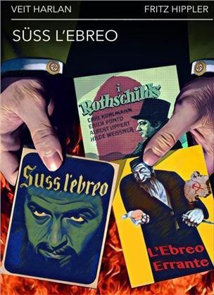 Süss l'ebreo + L'ebreo errante + I Rothschild (s/w)