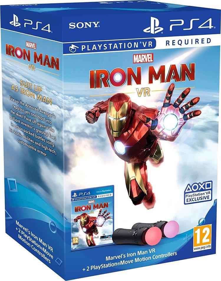Iron Man VR + Playstation Move Bundle
