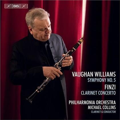 Philharmonia Orchestra, Ralph Vaughan Williams (1872-1958), Gerald Finzi (1901-1956) & Michael Collins - Symphony 5 (Hybrid SACD)