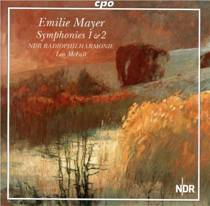 NDR Radiophilharmonie, Emilie Mayer (1812-1883) & Leo McFall - Symphonies 1 & 2