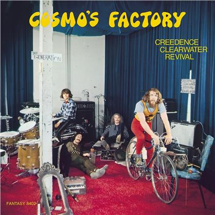 Creedence Clearwater Revival - Cosmo's Factory (Half Speed Master, Craft Recordings, 2020 Reissue, 50th Anniversary Edition, LP)