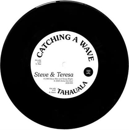 "Steve & Teresa - Catching A Wave (45 RPM, 7"" Single)"