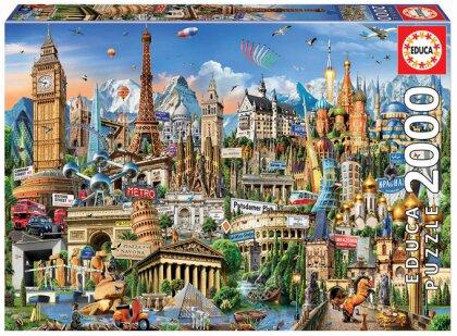 Wahrzeichen Europa (Puzzle)