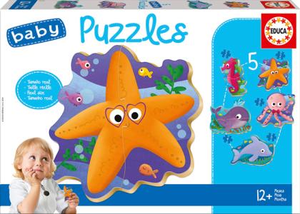 Baby Puzzles Sea Animals (Kinderpuzzle)