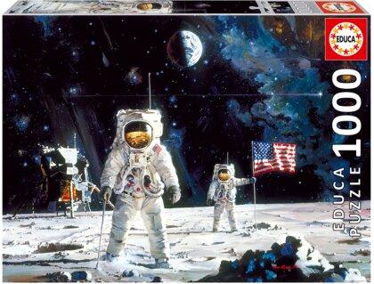 Erste Mondlandung (Puzzle)