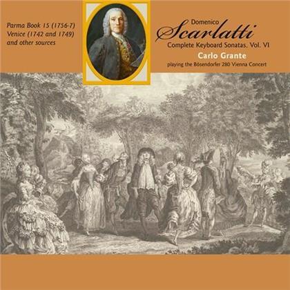 Domenico Scarlatti (1685-1757) & Carlo Grante - Complete Keyboard Sonatas 6