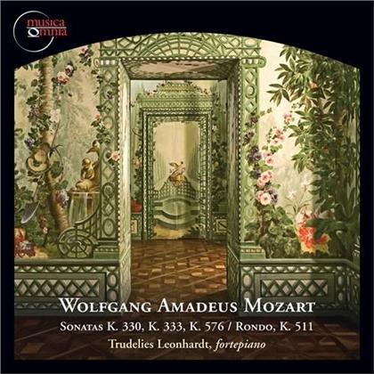 Wolfgang Amadeus Mozart (1756-1791) & Trudelies Leonhardt - Works For Fortepiano 3 - Sonatas K 330, 333, 576, Rondo K 511