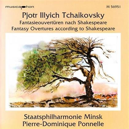 Peter Iljitsch Tschaikowsky (1840-1893), Pierre-Dominique Ponnelle & Staatsphilharmonie Minsk - Fantasieouverturen nach Shakespeaere