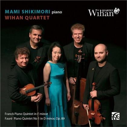 Wihan Quartet, Gabriel Fauré (1845-1924), César Franck (1822-1890) & Mami Shikimori - Piano Quintets