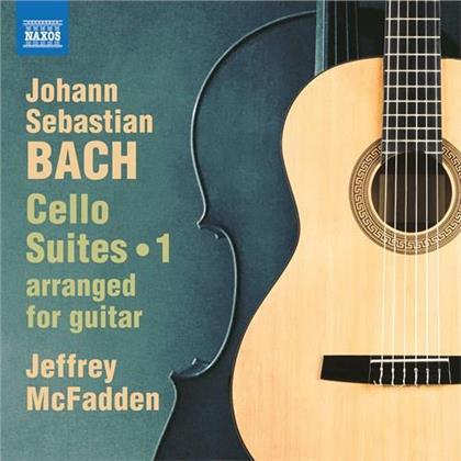 Johann Sebastian Bach (1685-1750) & Jeffrey McFadden - Cello Suites 1 arranged for Guitar