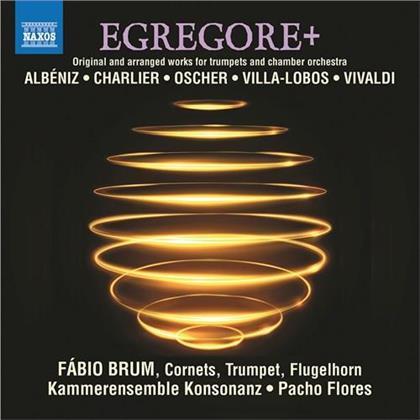 Isaac Albéniz (1860-1909), Charlier, Oscher, Heitor Villa-Lobos (1887-1959), Antonio Vivaldi (1678-1741), … - Egregore