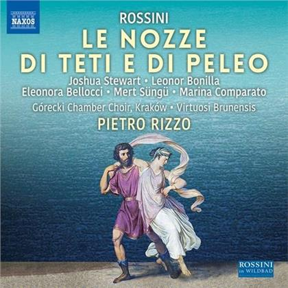 Gorecki Chamber Choir, Gioachino Rossini (1792-1868), Pietro Rizzo, Joshua Stewart, Leonor Bonilla, … - Nozze Di Teti E Di Peleo