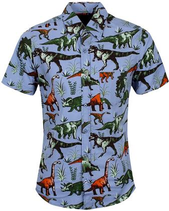 Run & Fly Retro Dinomite Adventure Short Sleeve Shirt