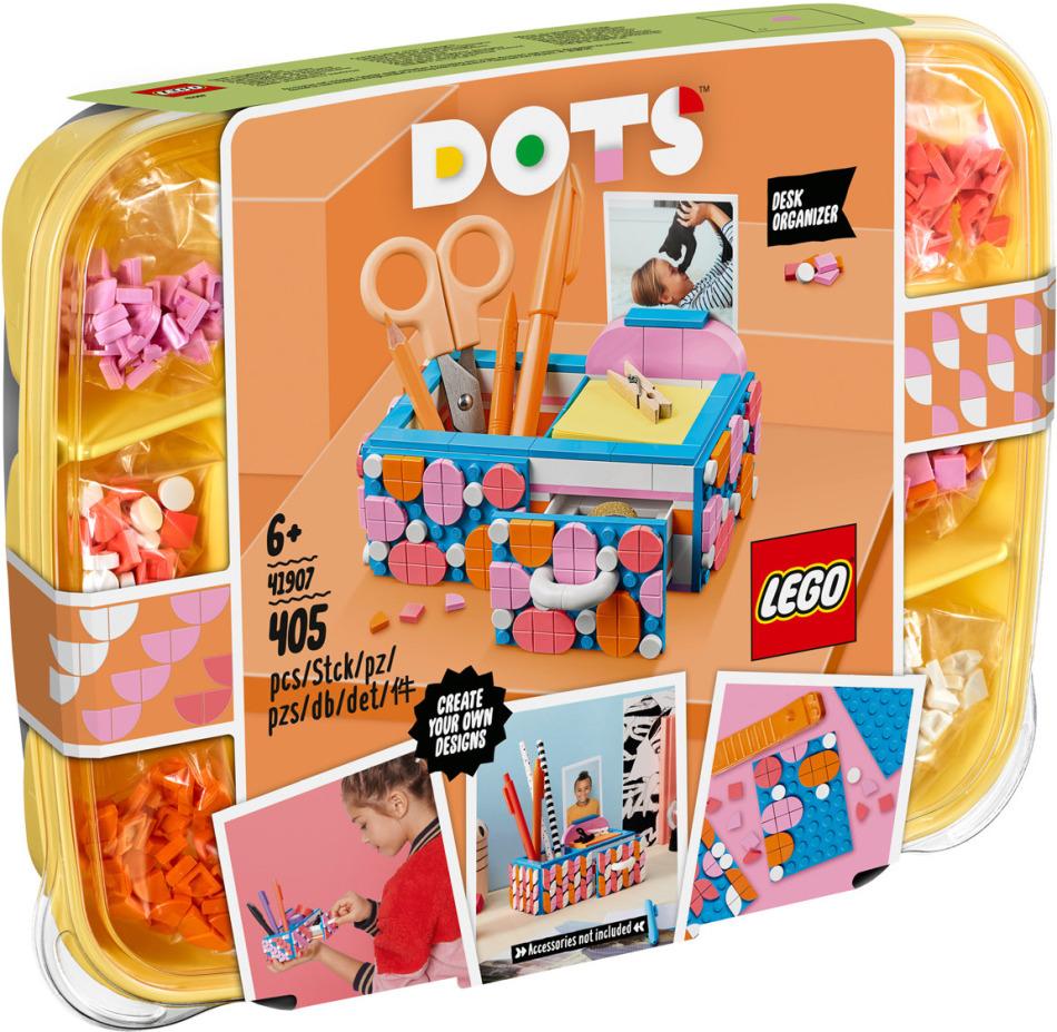 Stiftehalter mit Schublade - Lego Dots, 405 Teile