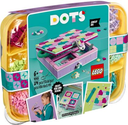 Schmuckbox - Lego Dots, 374 Teile,